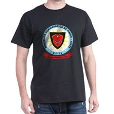 East Timor Coat Of Arms Black T-Shirt
