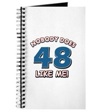 Nobody does 48 like me Journal