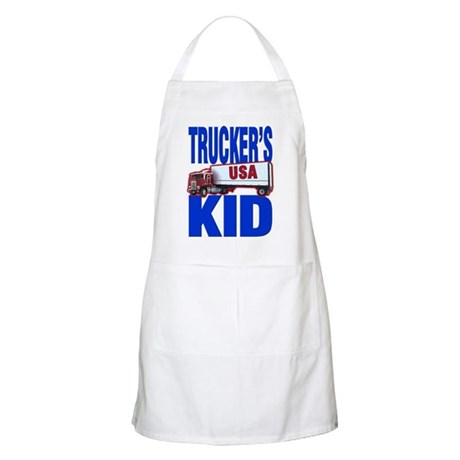 &quot;Trucker's Kid&quot; BBQ Apron