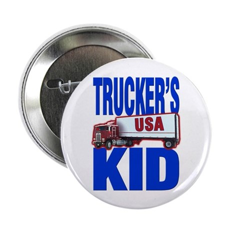 &quot;Trucker's Kid&quot; Button