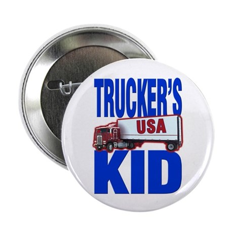 """Trucker's Kid"" 2.25"" Button (10 pack)"