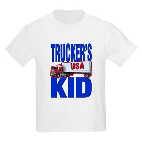 &quot;Trucker's Kid&quot; Kids T-Shirt