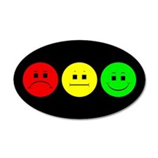 Moody Stoplight Wall Decal