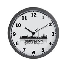Washington Skyline Wall Clock