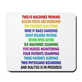 DIALYSIS 12 DAYS OF CHRISTMAS.PNG Mousepad