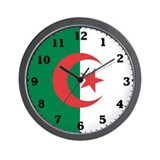 Algeria Flag Wall Clock