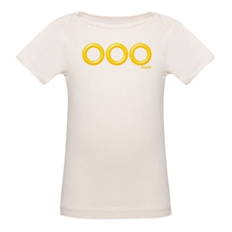 3 Sonic Rings Organic Baby T-Shirt
