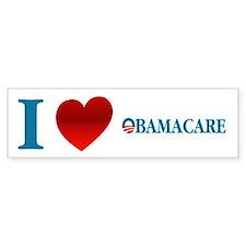 I Love Obamacare Bumper Sticker