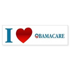I Love Obamacare Car Sticker