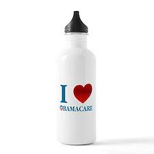 I Love Obamacare Water Bottle