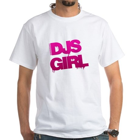 DJs Girl White T-Shirt