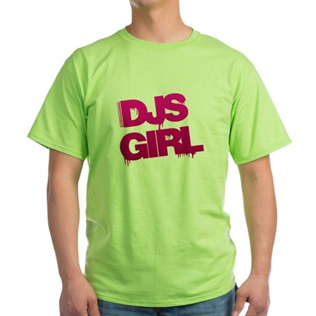 DJs Girl Green T-Shirt