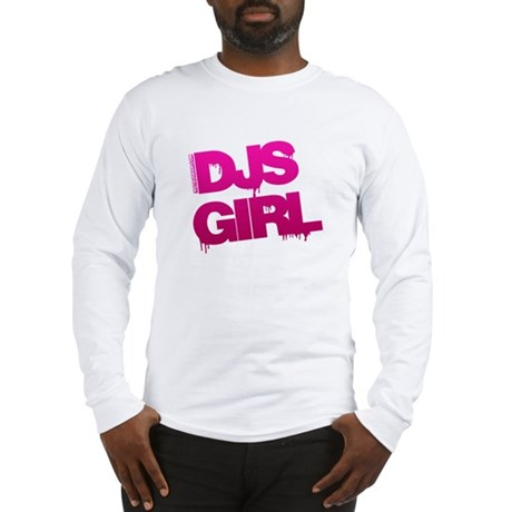 DJs Girl Long Sleeve T-Shirt