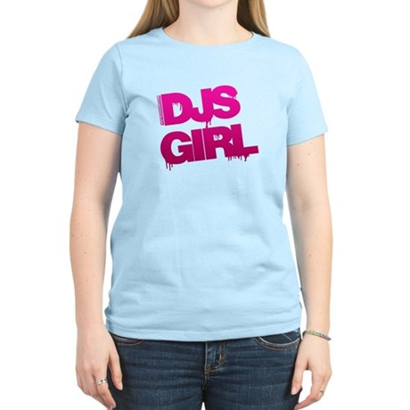 DJs Girl Women's Light T-Shirt