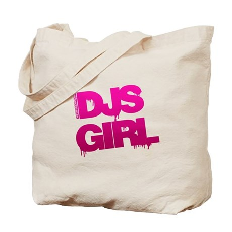 DJs Girl Tote Bag
