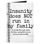 Insane Family Journal