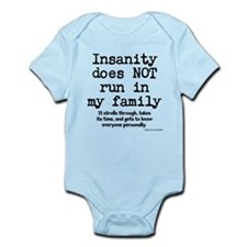 Insane Family Infant Bodysuit
