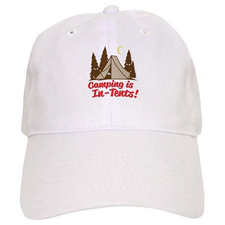 Camping Is In-Tents Cap