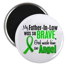"Angel 1 NH Lymphoma 2.25"" Magnet (100 pack)"