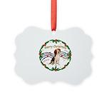 XmasMusic1MC/ Beagle Picture Ornament