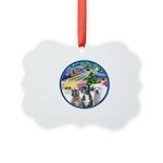 Xmas Magic / 3 Boxers Picture Ornament