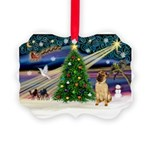 XmasMagic/ Shar Pei Picture Ornament
