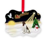 Night Flight/Eng Springer L3 Picture Ornament