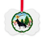 Take Off1/German Shepherd Picture Ornament