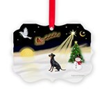 Night Flight/Manchester Picture Ornament