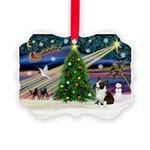 XmasMagic/Corgi (5C) Picture Ornament