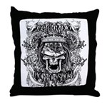 Ecto Radio Horror Show Throw Pillow