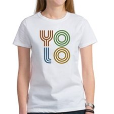 Retro YOLO-You Only Live Once Tee