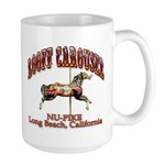 Loof Carousel on the Pike Large Mug
