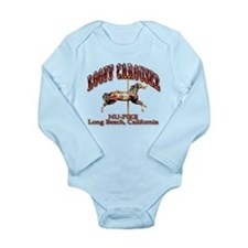 Loof Carousel on the Pike Long Sleeve Infant Bodys