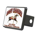 Loof Carousel on the Pike Rectangular Hitch Cover