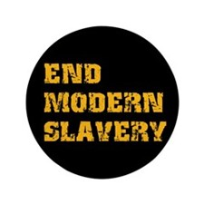 "End Modern Slavery 3.5"" Button (100 pack)"