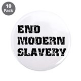 "End Modern Slavery 3.5"" Button (10 pack)"