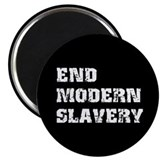 "End Modern Slavery 2.25"" Magnet (10 pack)"