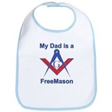 Pop is a Freemason Bib