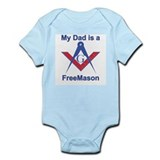 Pop is a Freemason Infant Creeper