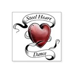 Steel Heart Dance logo Square Sticker 3