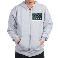 COMPUTER NUT™ Zip Hoodie
