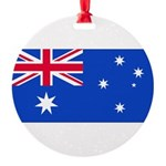 Australiablank.jpg Round Ornament