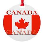 Canada.jpg Round Ornament