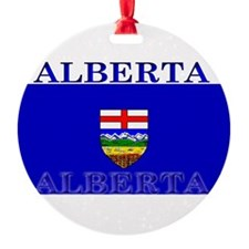 Alberta.jpg Round Ornament