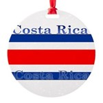 CostaRicablack.png Round Ornament