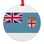 Fijiblank.png Round Ornament