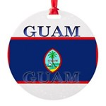 Guam.jpg Round Ornament