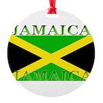 Jamaica.jpg Round Ornament