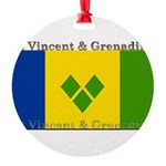 StVincentGrenadine.jpg Round Ornament